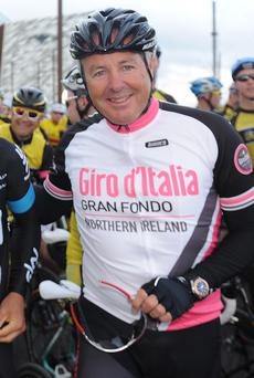Sporting legend: Stephen Roche is taking part in the Belfast event