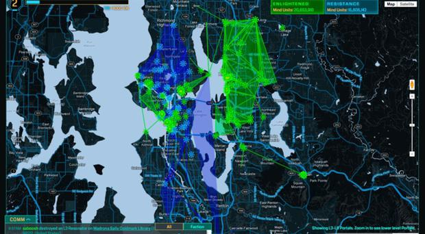 Ingress is an augmented-reality online multiplayer location-based game created by Niantic