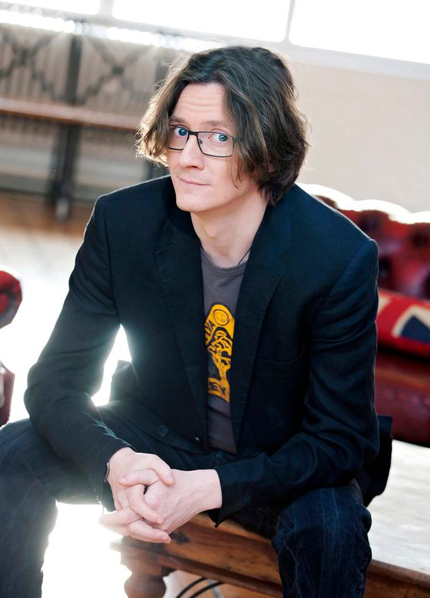 Gardening leave: Ed Byrne studied horticulture before dedicating himself to comedy