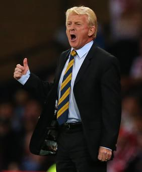 Tough call: Gordon Strachan