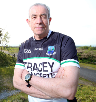Teamwork: Fermanagh boss Peter McGrath says he has a strong backroom team which is a great help to him