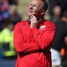 Quiet man: Saracens Director of Rugby Mark McCall is hoping to lead his team to Champions Cup glory against Racing 92 in an eagerly awaited final
