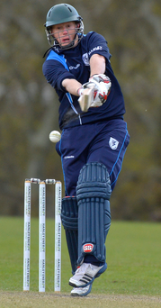 Kevin O'Brien turned out for Leinster Lightning and hit 42 off 24 balls