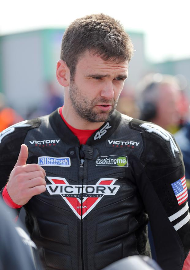 Rough ride: William Dunlop says things haven't been going to plan