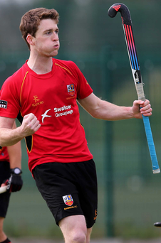 Top scorer: Stephen Dowds put Bann on their way to the decider with his fourth goal