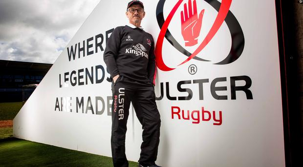 Standing tall: Les Kiss believes Ulster can forget about the past and show they can rise to the challenge in the PRO12 semi-final against Leinster