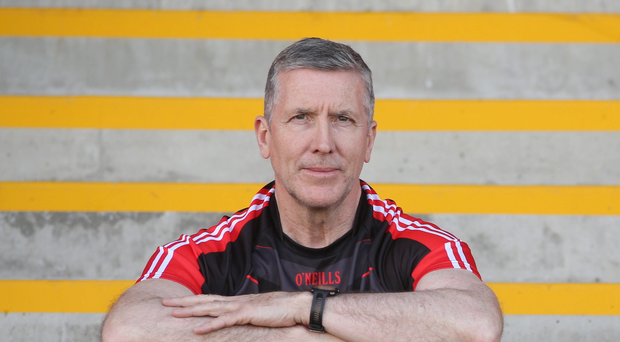 Ready to rock: Derry boss Damian Barton has called on fans to raise the roof in the Ulster quarter-final