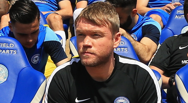 Big chance: New boss Grant McCann
