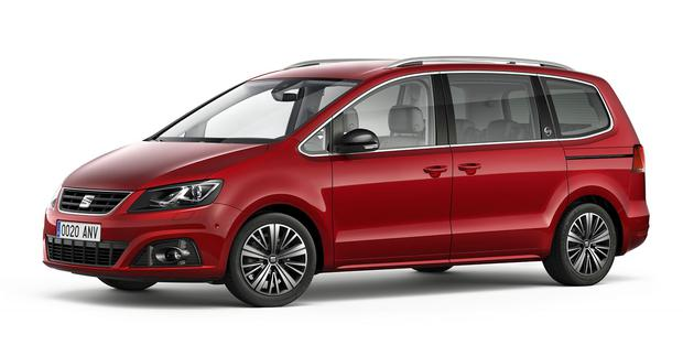 Seat Alhambra is a three-time MPV of the Year award winner