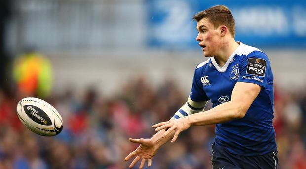 Battle: Garry Ringrose faces another tough examination against Ulster