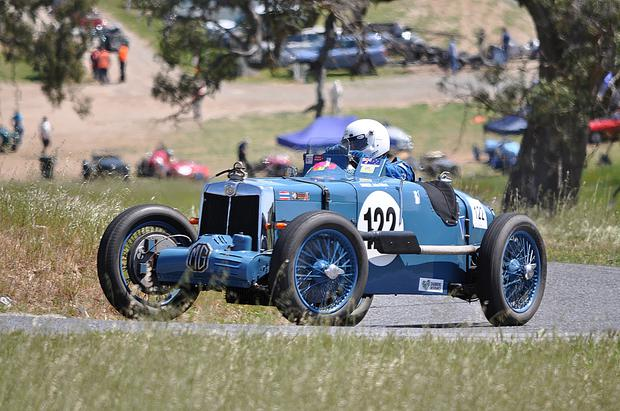 Gearing up: John Gillett will be at Cultra in his 1935 MG K3 Magnette