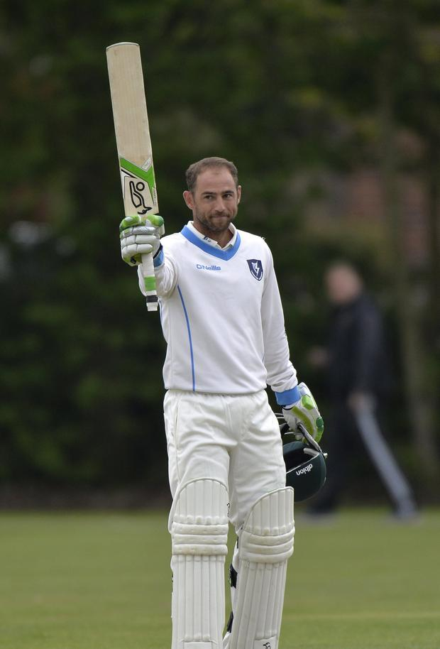 Stunning: Leinster Lightning captain John Anderson was in inspired form