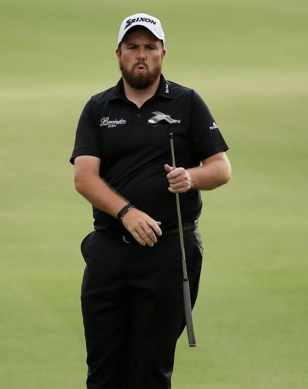 On the rise: Shane Lowry has made steady progress since winning the Irish Open as an amateur in 2009