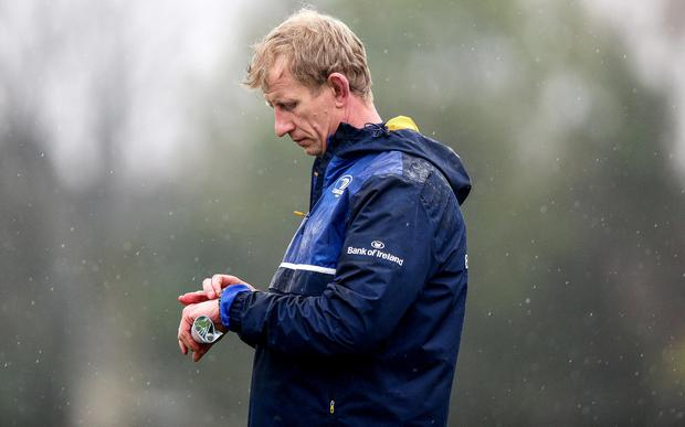 Pressure on: Leo Cullen will face stinging criticism if Leinster stumble