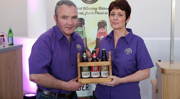 Pat McKeever and Catherine McKeever from Long Meadow Cider
