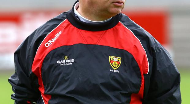 Down manager Michael Johnston