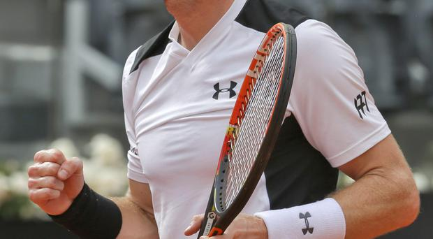 What a blast: Andy Murray's return of serve will be tested to the full