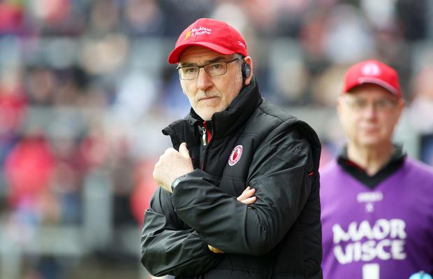 Results business: Boss Mickey Harte praised the Championship win