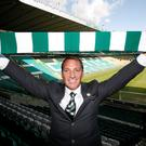 New Celtic manager Brendan Rodgers after a press conference at Celtic Park, Glasgow. PA