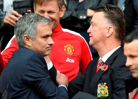 Jose Mourinho will replace Louis van Gaal as Manchester United boss. PA