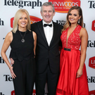 Simon Brien with his wife Juanita and daughter Tiffany