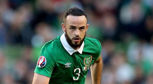 Injury blow: The Republic of Ireland's Marc Wilson has been ruled out of Euro 2016 after failing to sufficiently recover from a knee injury