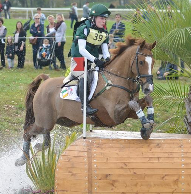 In the hotseat: Ulster rider Clare Abbott, with her horse Euro Prince, will attempt to secure Olympic qualification at next week's Tattersalls International Horse Trials
