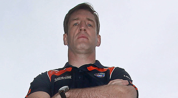 Fierce competitor: Armagh manager Kieran McGeeney has always strived for victory