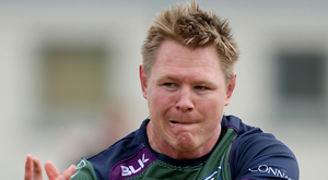 International hopes: Tom McCartney will qualify to play for Ireland in 2017
