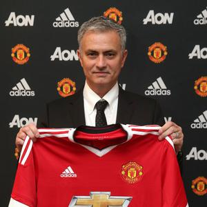 Jose Mourinho signs three-year deal for Manchester United. Pic Manchester United