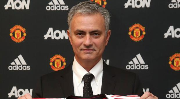 Jose Mourinho signs three-year deal for Manchester United. Pic Manchester  United 562713b07ea3