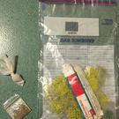 Police seize drugs in west Belfast.