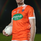 Ready to go: Kieran McKeever is seeking to avenge Armagh's league defeat to Cavan