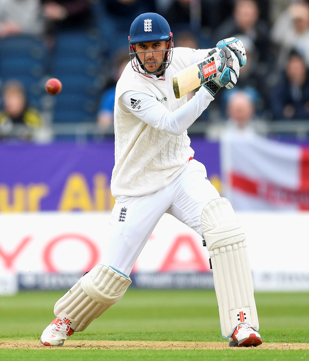 Top order: opener Alex Hales reckons he's doing plenty right for England