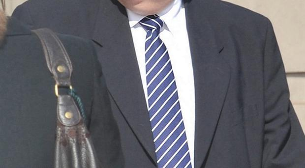 Solicitor Philip Crossey had been suffering from diabetes and had his left leg amputated