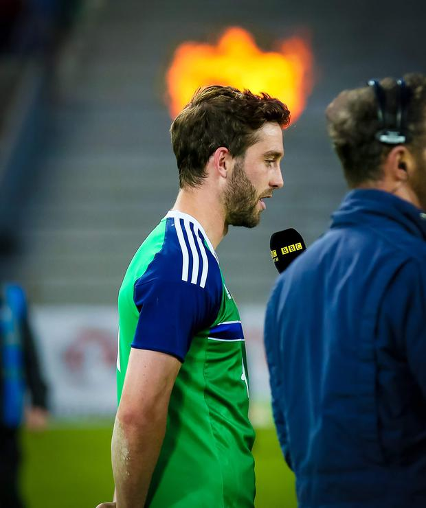 Will Grigg. Pic kevin Scott