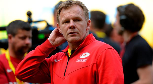 Driving force: Bangor's Mark McCall led Saracens to become the first English side for 12 years to land domestic and European titles