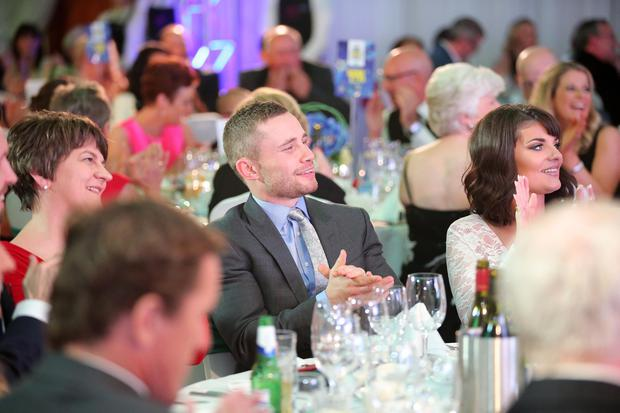 Sunday Life Spirit of Northern Ireland Awards sponsored by Specsavers at the Culloden Estate & Spa resort in Holywood. Photo by Kelvin Boyes / Press Eye