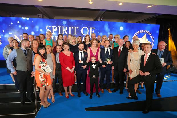 Spirit of Northern Ireland Awards winners 2016