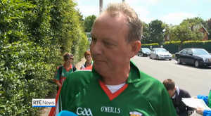"""The Mayo fan said he would """"definitely be voting to leave"""" the EU. Photo: RTE"""