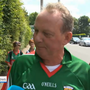 "The Mayo fan said he would ""definitely be voting to leave"" the EU. Photo: RTE"