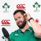 New face: Andy Farrell is eager to stamp his authority during the three-Test tour to South Africa after taking over from Les Kiss as Ireland defence coach