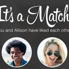 Dating apps: 37% said they had met a partner via such an app. File pic