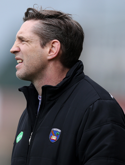 No go: Kieran McGeeney's Armagh men have little club action in June