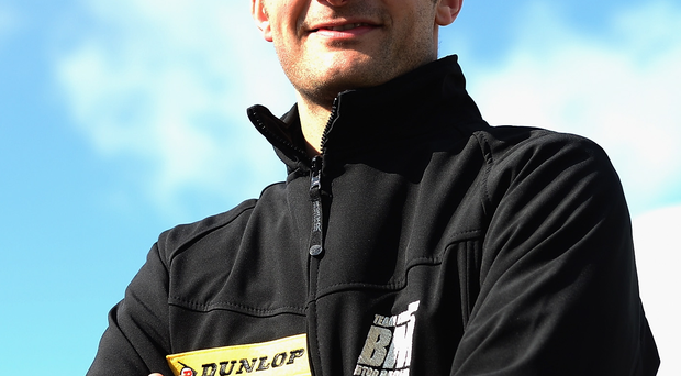 Revved up: Colin Turkington will be back in a touring car at Oulton Park