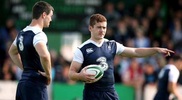 Taking over: Paddy Jackson is set to play a major role in Ireland's tour of South Africa after Johnny Sexton withdrew from the squad through injury