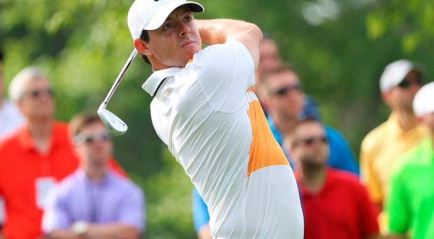 Back to the old: Rory McIlroy reverted to a conventional grip in Ohio