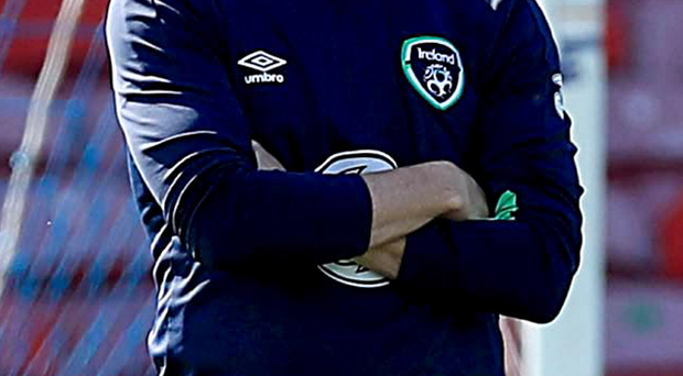 Injury concern: Robbie Keane is unable to train with the team