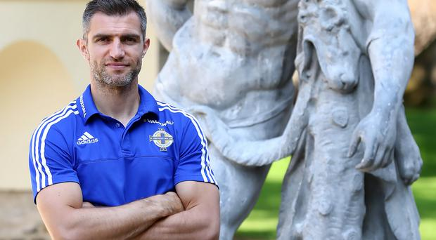 Defensive rock: Aaron Hughes