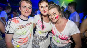 People out for the end of exams UV Party at Mandela Hall. 2nd June 2016. Picture by Liam McBurney/RAZORPIX